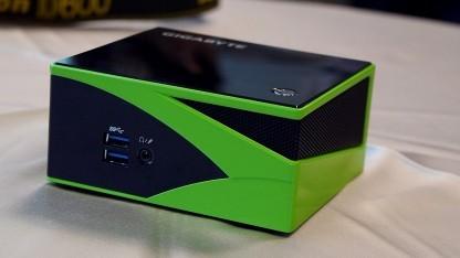 Das Gigabyte Brix Gaming in der Nvidia-Variante