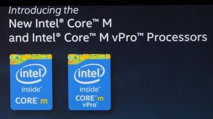 Bild zu «Intel: Neue Marke «Core M» für Broadwells unter 10 Watt»