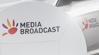 Media-Broadcast-Anlage