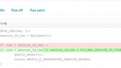 In GnuTLS wurde ein neuer Fehler entdeckt und repariert.