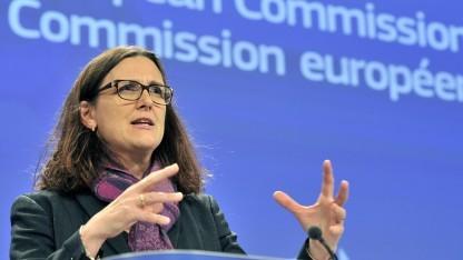 EU-Kommissarin Malmström strebt keine neue Richtlinie an.