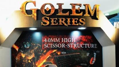 Die Golem-Series zeigt i-rocks von seinen neuen Produkten am prominentesten.