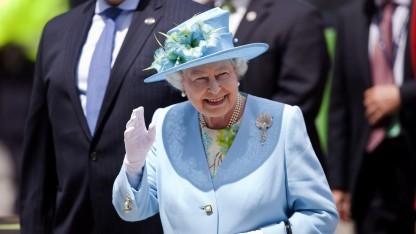 Die Queen stellte eine Gesetzesnovelle zu Cyberattacken vor.