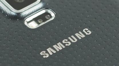 Rückseite des großen Samsung Galaxy S5