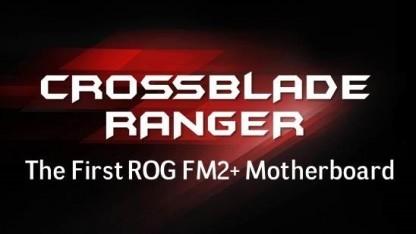 Das Crossblade Ranger ist das erste ROG-Board mit FM2+.
