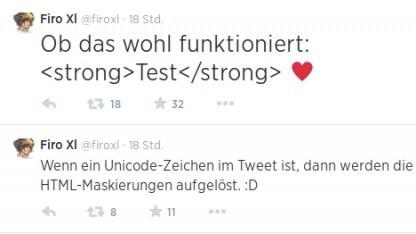 Der Twitter-Nutzer Firo IX entdeckte eine Sicherheitslücke in Tweetdeck.