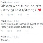 Security: Ein Herz legt Tweetdeck lahm