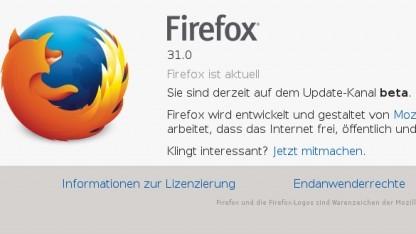 Firefox 31 als Beta erschienen