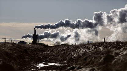 Kleines Erdwärmekraftwerk im isländischen Laugarvatn