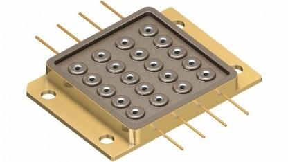 20 Laserdioden in einem Modul