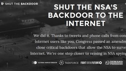Der NSA wird Geld für das Einbauen von Backdoors entzogen.