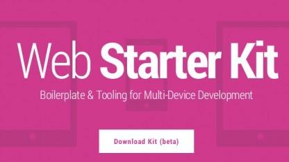 Einen einfachen Einstieg in die Webentwicklung verspricht das Web Starter Kit.