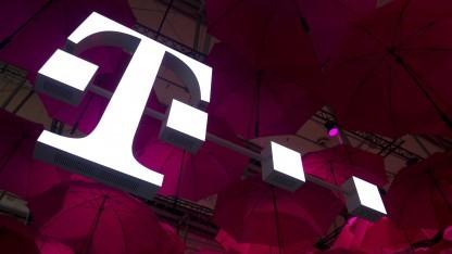 Stand der Telekom auf der Cebit 2014