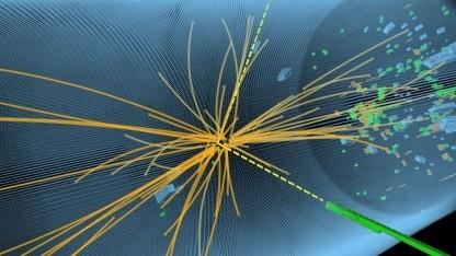 Higgs-Ereignis am CMS: neue Teilchenkollisionen im Jahr 2015