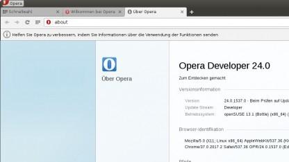 Opera auf Chromium-Basis nun auch für Linux