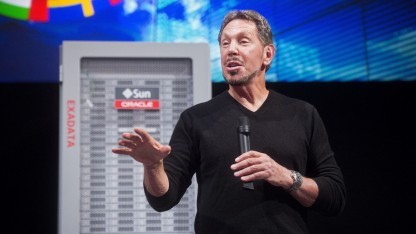 Oracle-Chef Larry Ellison im Juni 2014