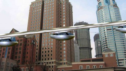UniModal will mit der Magnetschwebebahn SkyTran den Verkehr revolutionieren.