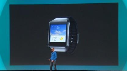 Die neue Galaxy Life von Samsung während der Google I/O