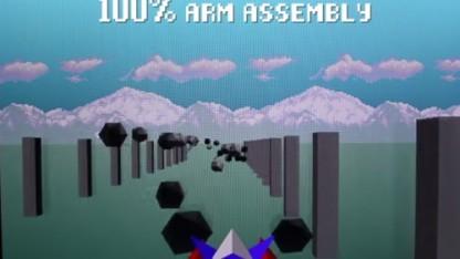 Der Nintendo-Klassiker Star Fox in Assembler nachgebaut
