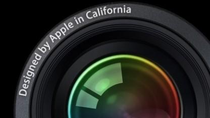 Apple Aperture wird eingestellt.