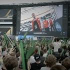 E-Sport im Fußballstadion: Zumindest das Spielfeld ist schon voll