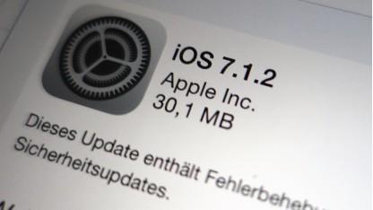 iOS 7.1.2 ist da