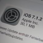 Apple: Das ist neu an iOS 7.1.2