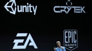 Craig Federighi von Apple auf der WWDC 2014
