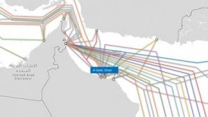 Im Oman werden Tiefseekabel vom GCHQ angezapft.