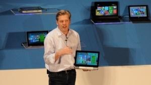 Nick Parker mit dem HP Pro X2