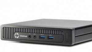 Den Elitedesk Mini soll es bald auch mit AMDs neuen Kaveri-APUs geben.