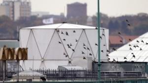 Verstößt gegen das Völkerrecht: mutmaßliche Abhöranlage auf dem Dach der britischen Botschaft in Berlin