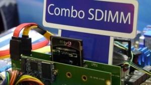 Apacers Combo SDIMM mit SSD und Cfast-Speicherkarte