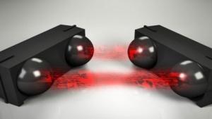 Datenübertragung mit Infrarotlicht