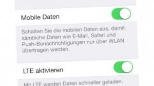 LTE auf dem iPhone mit iOS 8 und E-Plus