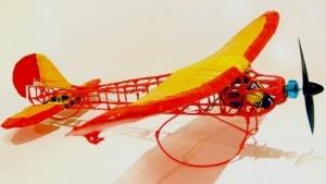 Das Modellflugzeug aus dem 3Doodler
