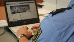 Bild einer Karriere-Kampagne der Polizei Sachsen