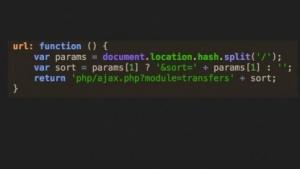 Ein Stück Code der Angreifer