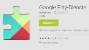 Google verteilt aktuell eine neue Version seiner Play-Dienste.