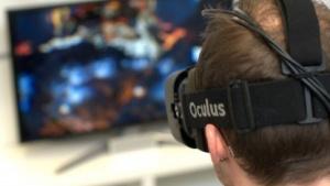 Der Crystal-Cove-Prototyp des Oculus Rift.