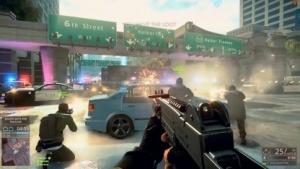Szene aus dem 60-FPS-Trailer von Battlefield Hardline