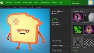 Profilseite von Larry Hryb auf Xbox.com