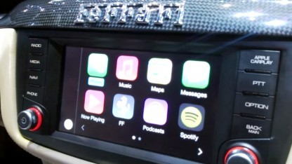 Carplay in einem Ferrari