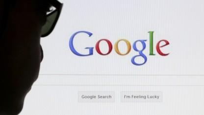 Die Eingabemaske der Google-Suchmaschine
