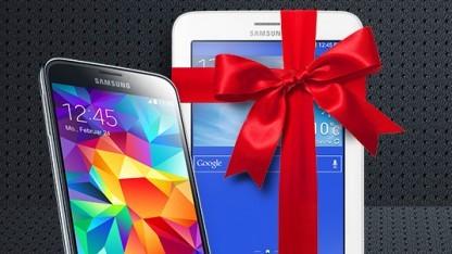 Spezielle Verkaufsaktion für das Galaxy S5