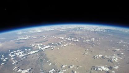 Blick vom Ballon: zwei Stunden in der Stratosphäre