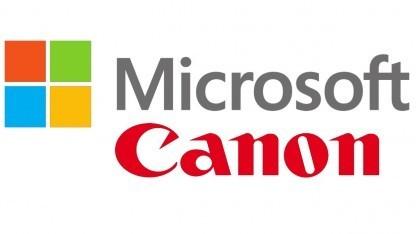 Microsoft und Canon lizenzieren sich gegenseitig Patente.