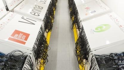 Der Rechnerraum des Vienna Scientific Cluster 3