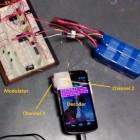 Datenübertragung: Smartphone-Kompass spielt Musik durch Magnetkraft