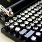 Qwerkywriter: Mechanische Schreibmaschinentastatur für iPad und PC